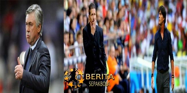 "Ancelotti-Simeone-Loew Bersaing untuk Gelar ""World Coach of the Year"""