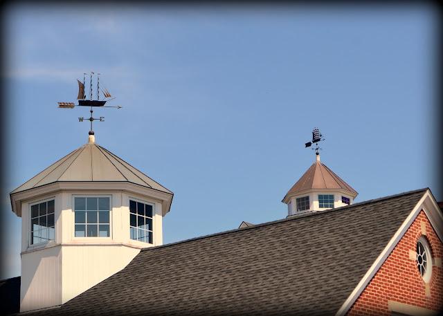 Weather Vanes, clipper ships, pickering wharf, Salem, Massachusetts