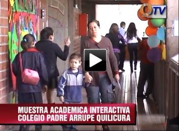 EXPO INTERACTIVA COLEGIO PADRE ARRUPE QUILICURA