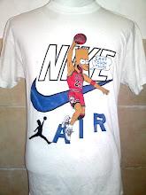 Vintage Nike Michael Jordan x Bart Simpson