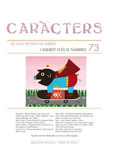 CARÀCTERS (és una revista de llibres)