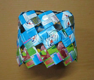 facial tissue boxes ,Tissue Box Cover, from Milk Carton,Tetra paks,reuse box,recycle milk carton,crafts