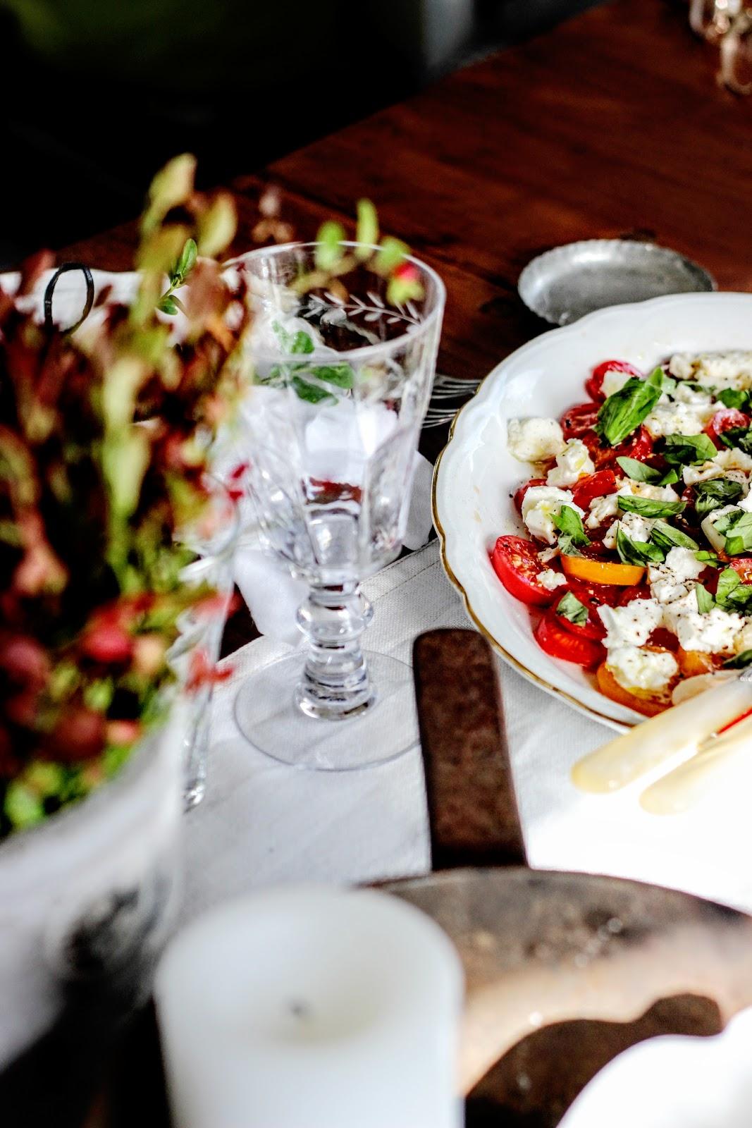Ranskalaista tunnelmaa syksyn ensimmäisillä illallisilla