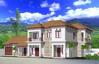 desain rumah mewah on gambardesain3d: View Render Rumah Mewah 2 lantai