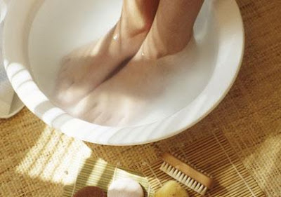 Uses of salt as a beauty treatment