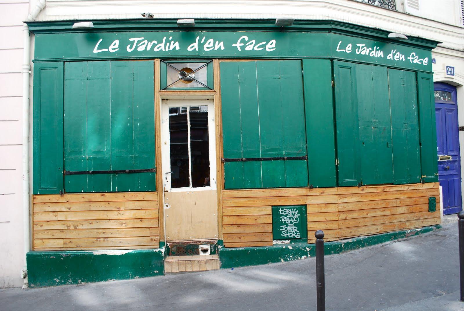 Paris montmartre fa ades madame jeanne for Jardin 75018