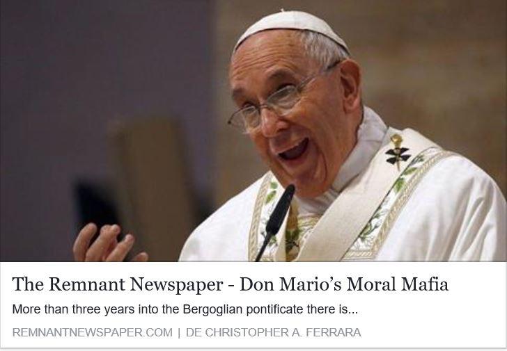 Don Mario''s Moral Mafia.