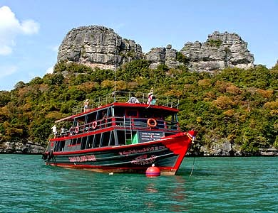 ANGTHONG MARINE PARK SIGHTSEEING BY TOUR BOAT