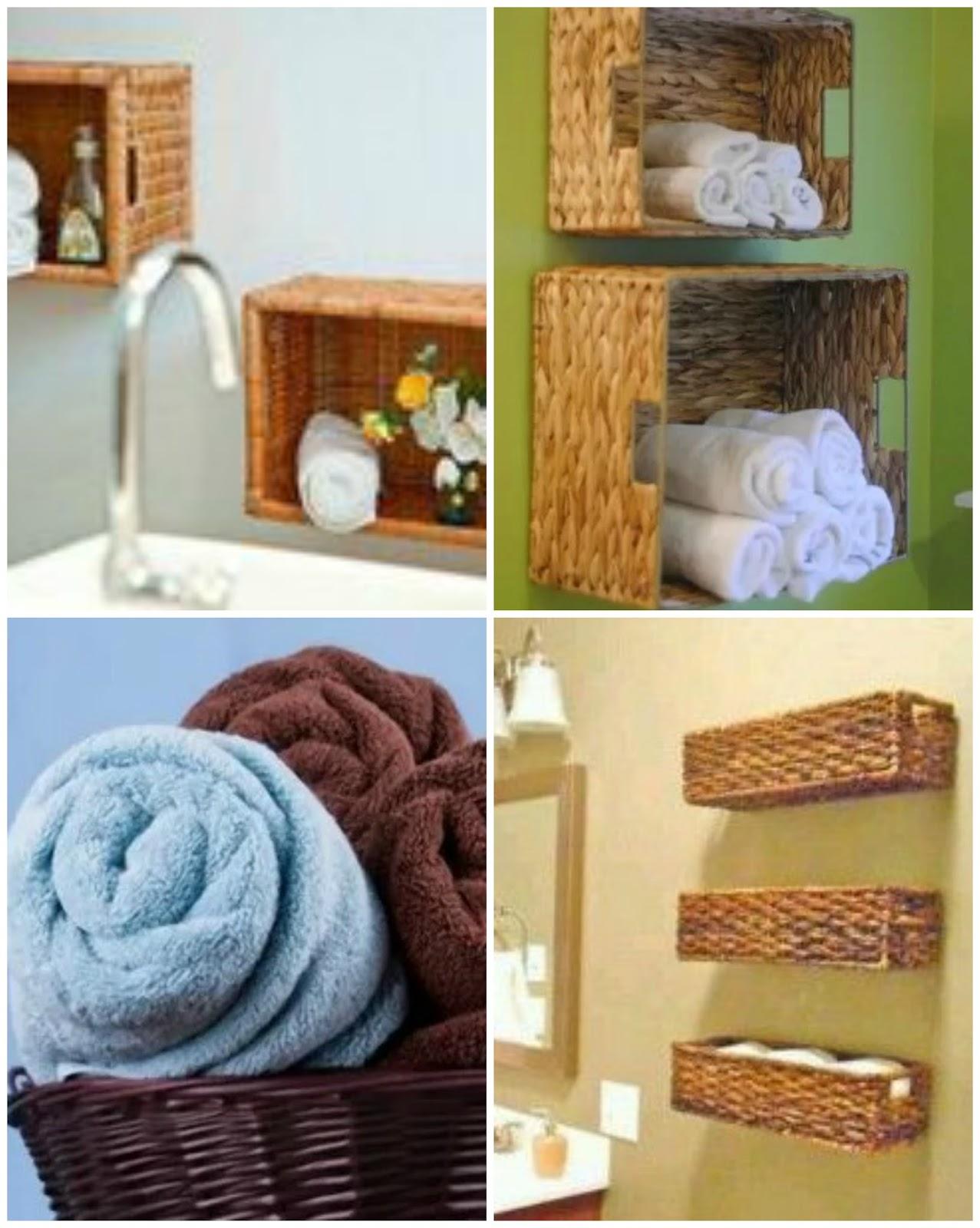 Organizar o banheiro 50 dicas para você organizar seu banheiro  #6B4026 1277 1600