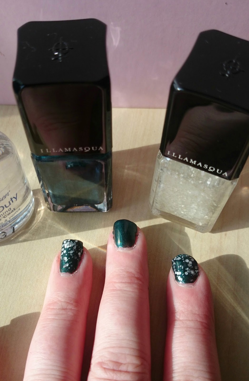 illamasqua viridian and blizzard