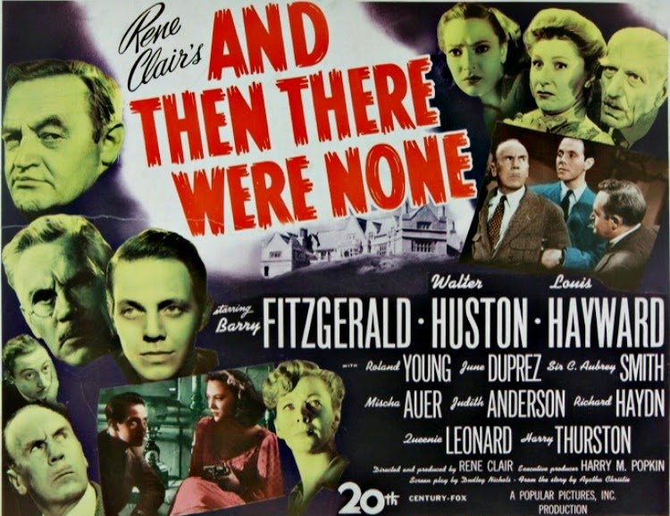 A Vintage Nerd, Vintage Blog, Old Hollywood Blog, Classic Film Blog, And then there were none