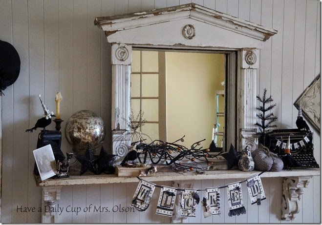 Halloween Display from Have a Daily Cup of Mrs. Olson  | Halloween Favorites at www.andersonandgrant.com