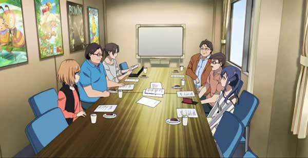 Shirobako - Anime yang menampilkan proses pembuatan anime