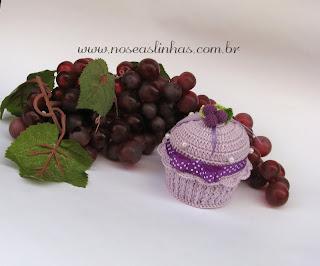 cupcake docinho em croche