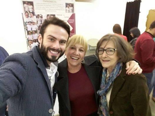 Raphael Montagner, Teresa Fusaro e Ondina Yanzer