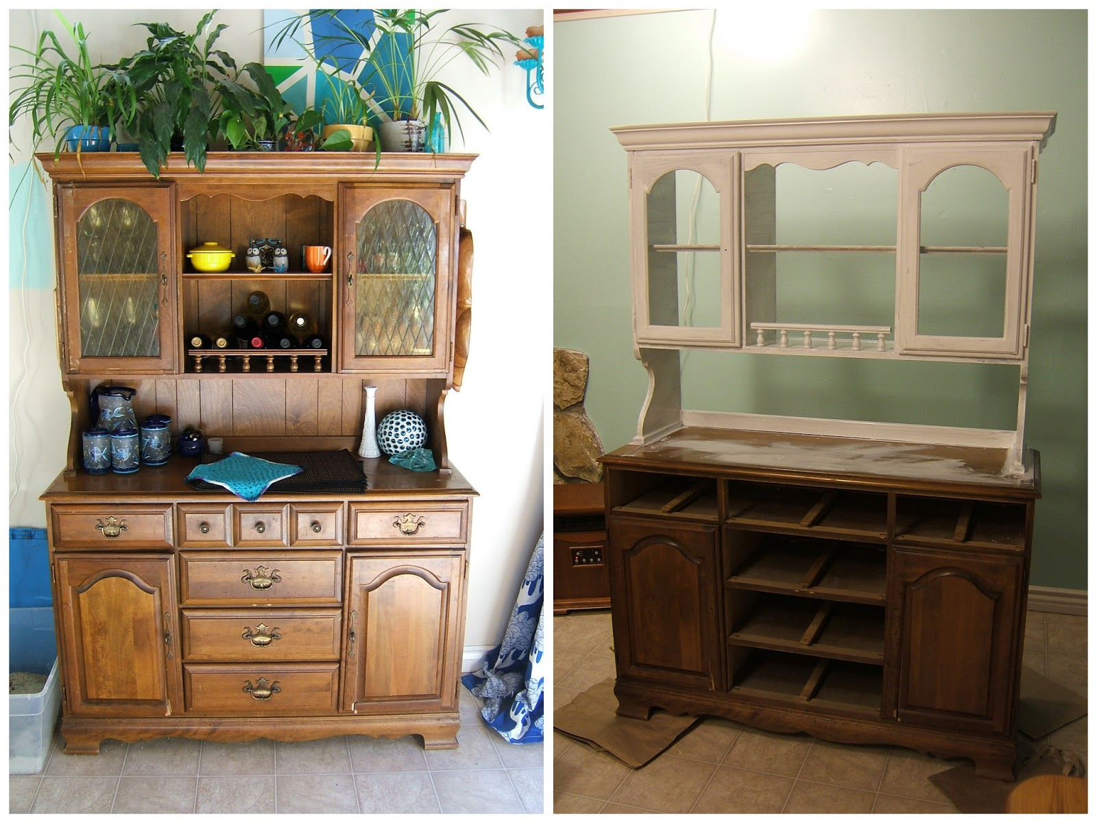 Source: Small Kitchen Hutch Painted