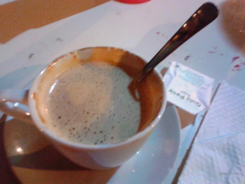 Hot Cappucino ala Lincak Cafe
