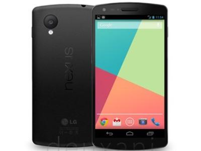 printscreen Google LG Nexus 5