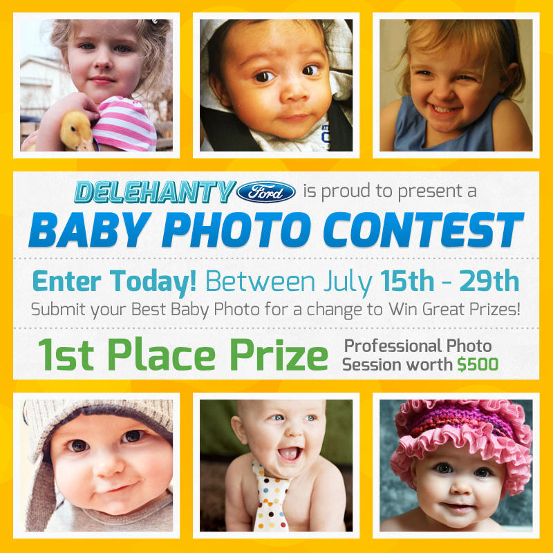 Delehanty Ford Baby Photo Contest