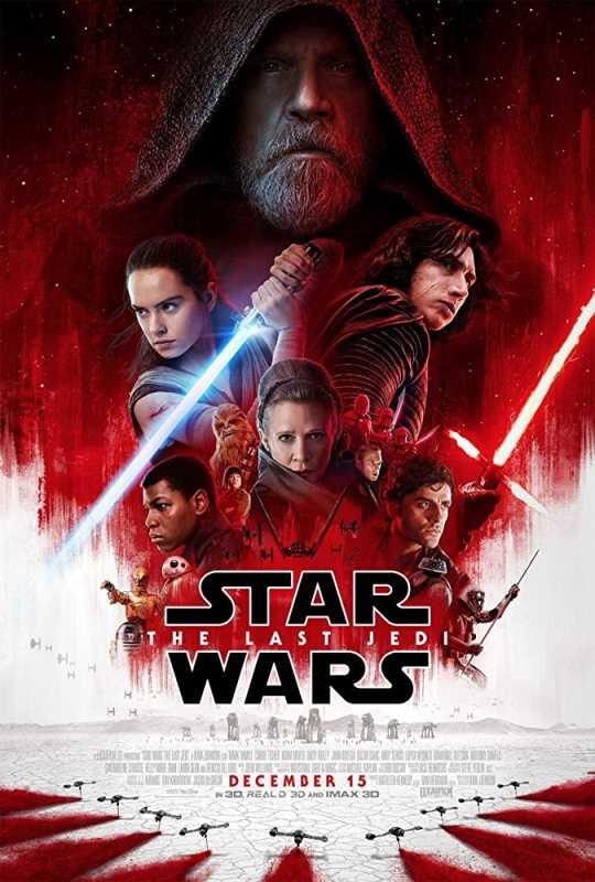 Star Wars The Last Jedi 2017 720p x264 Esub BluRay  Dual Audio English Hindi Cam GOPISAHI
