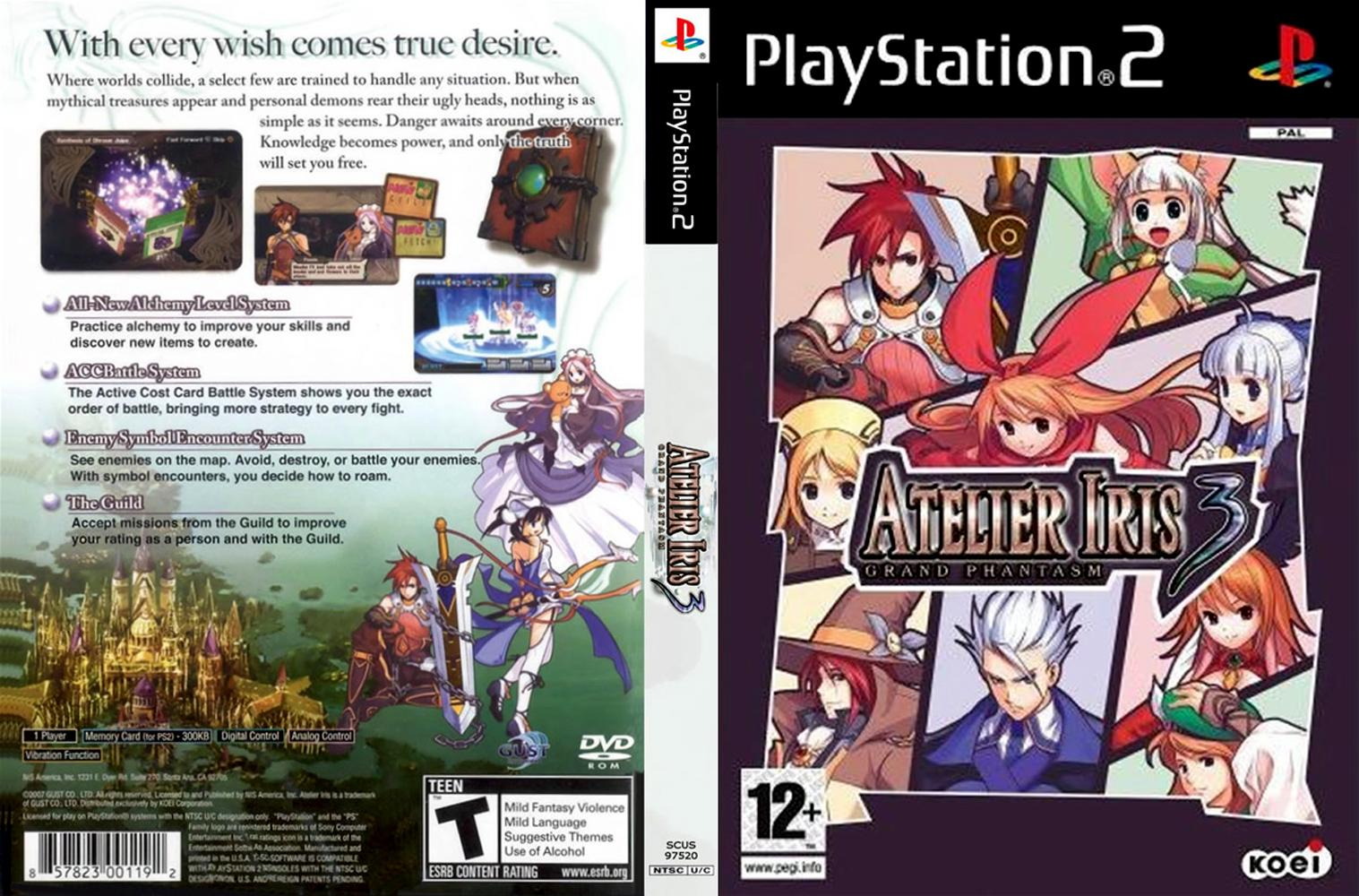 Download - Atelier Iris 3 - Grand Phantasm - PS2 - ISO