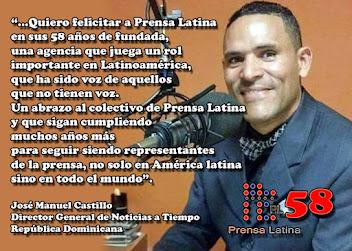 Muchas felicidades al colectivo de Prensa Latina