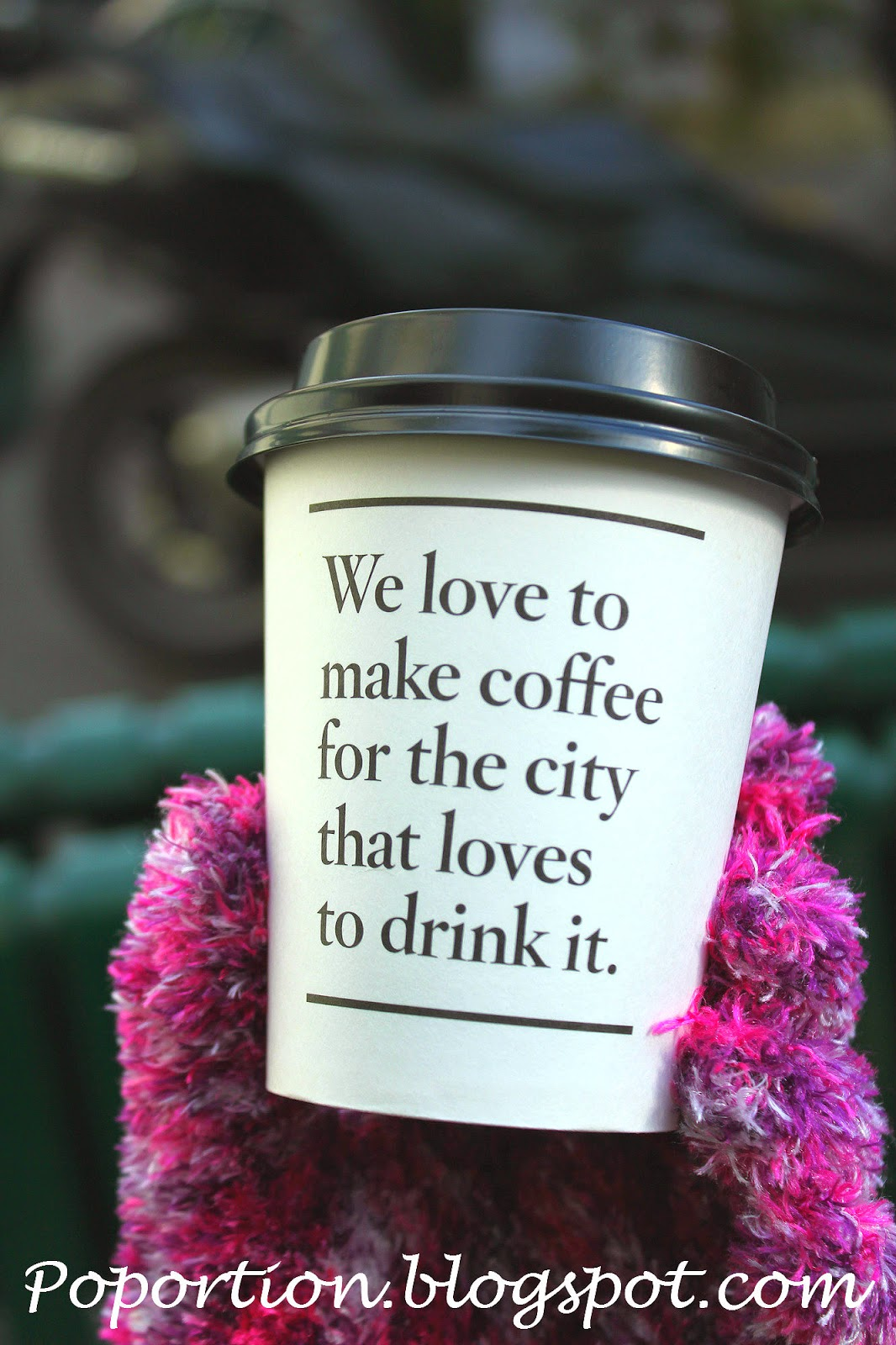 we love to make coffee for the city that loves to drink it