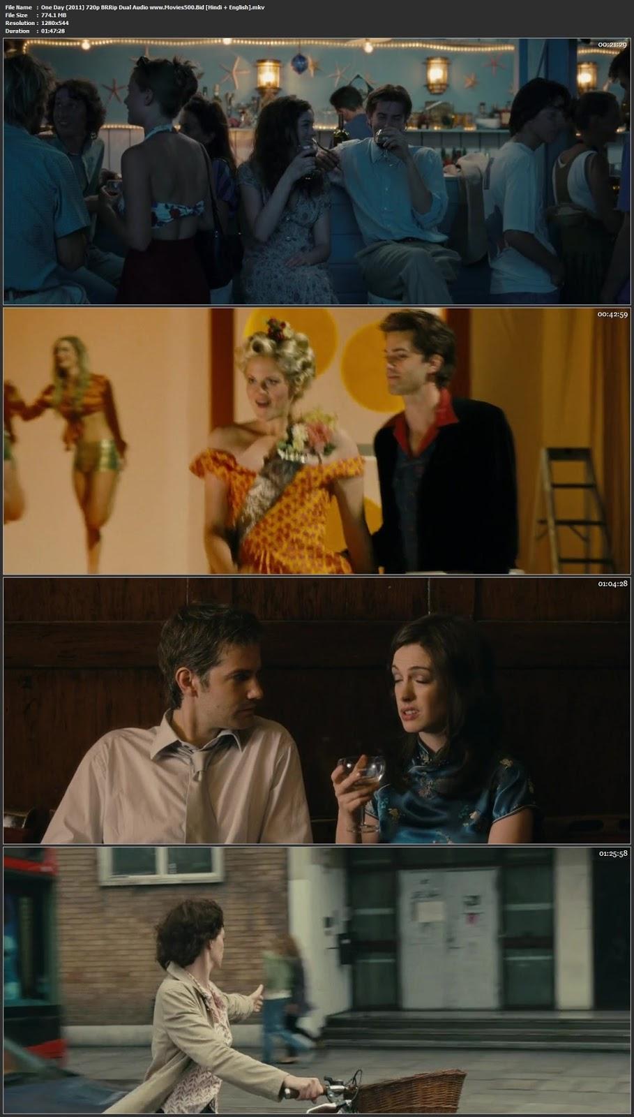 One Day 2011 Dual Audio Full Movie BluRay 720p at 9966132.com