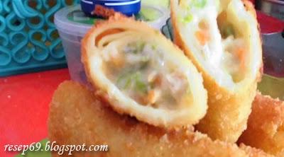 Resep Risoles Keju Mayonnaise