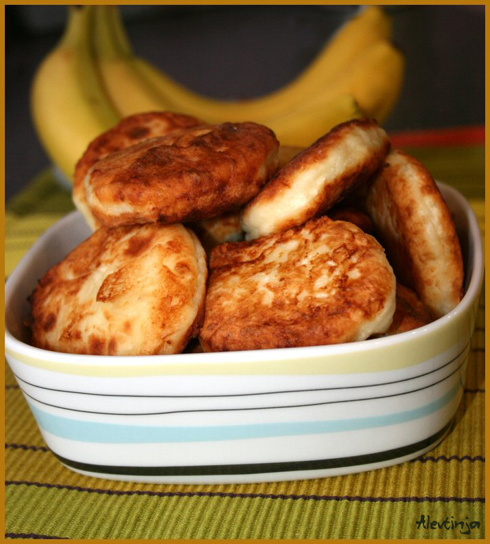 Банановые сырники рецепт с фото