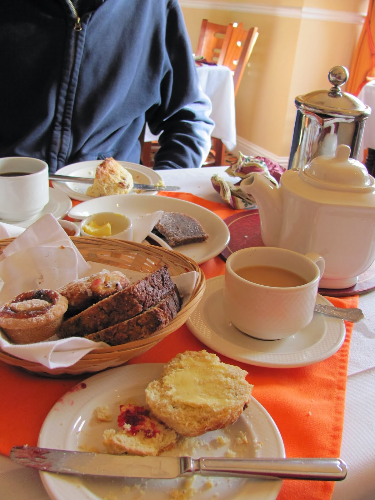 Coffee, Tea, and Cakes at Garnish House, Cork, Ireland