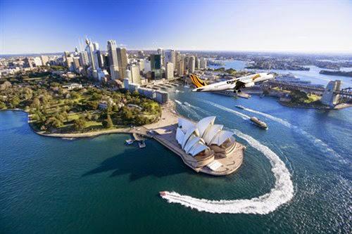 Vé máy bay Tiger Airways du lịch Sydney