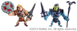 "Mattel Master of the Universe Comic-Con SDCC 2013 Exclusive ""Mini-Masters"" He-Man & Skeletor Set"