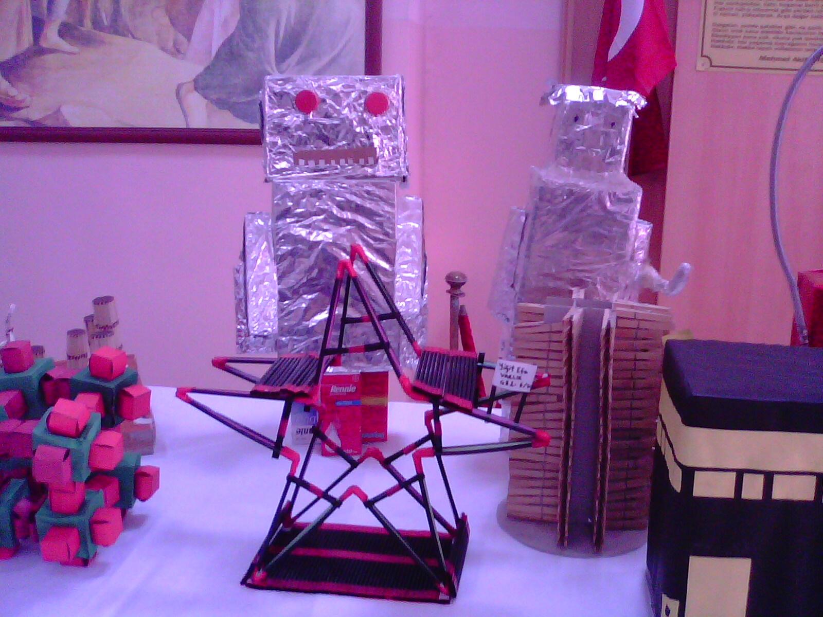 Robotlar yıldız düzen kuşağı çalışmaları