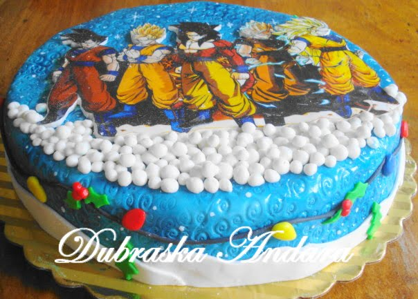 Decoración de tortas de dragonball - Imagui
