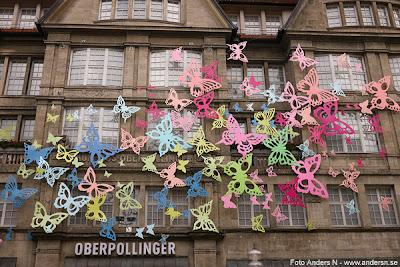 schmeterlinge, butterfly, schmetterling, butterfly, fjäril, fjärilar, and die wand, on the wall, på väggen, münchen, munich