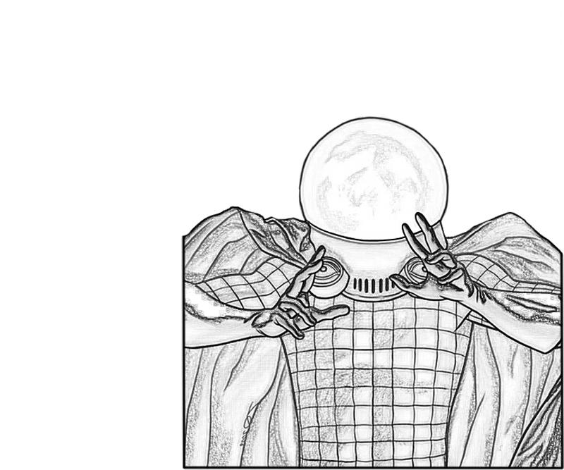Mysterio Ability Avondale Style Mysterio Coloring Pages