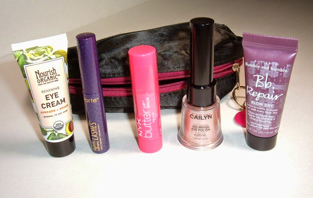 Review- December Ipsy Bag2014