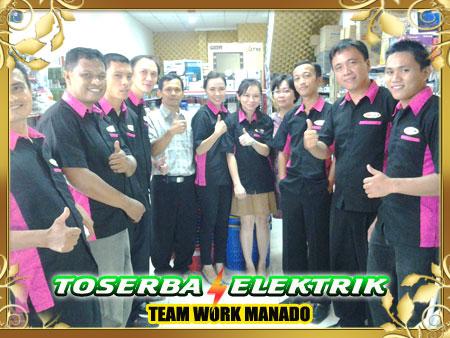 Toserba Elektrik Manado team work
