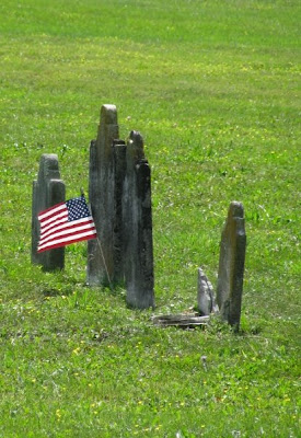 Civil War veteran's gravesite