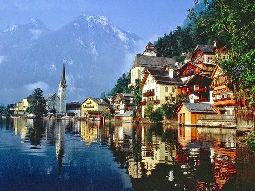 Hallstatt, Østrig
