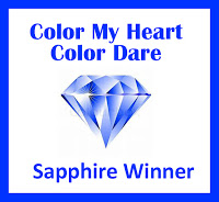 Color My Heart Sapphire Winner