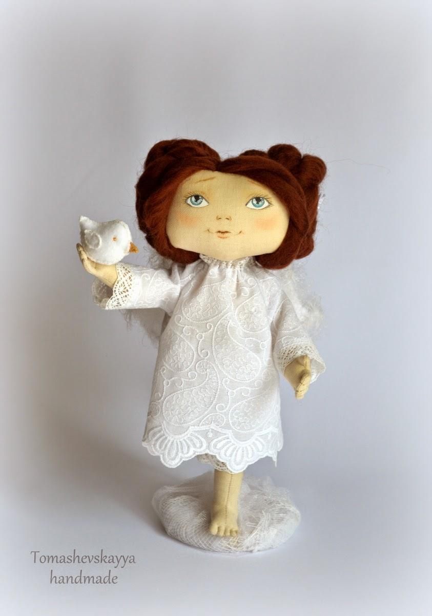 Авторская кукла. Ангел.