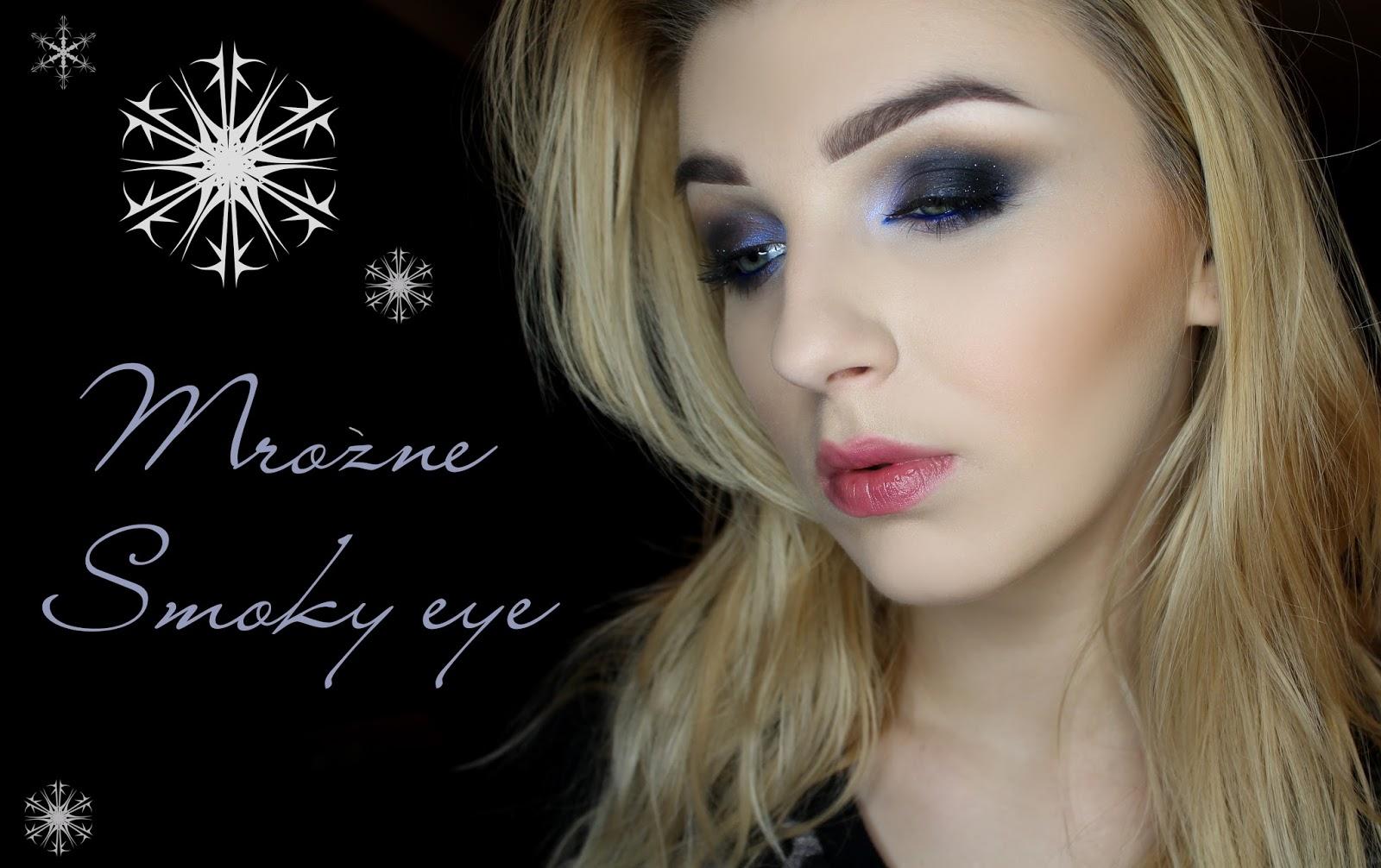 Makijaż Sylwestrowy - Mroźne Smoky Eye