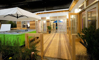 Eco friendly modular home