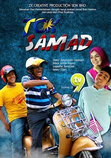 Tengah Layan Telemovie Tok Samad Di Skrin TV9