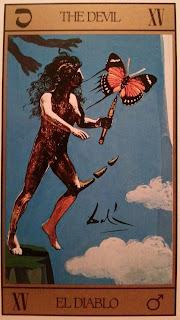 El Diablo. Carta del Tarot