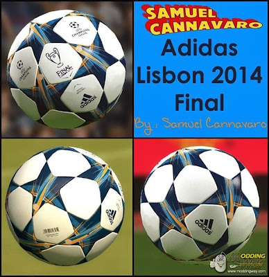 PES 2014 Adidas Lisbon 2014 Final by Samuel Cannavaro