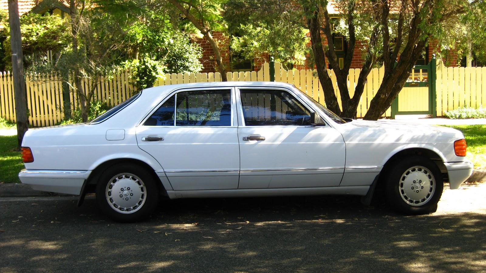 Aussie old parked cars 1988 mercedes benz w126 300 se for 1988 mercedes benz
