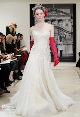 Reem Acra Bridal Dress